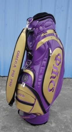 Smart Cover Reviews >> Omega Psi Phi Jr. Staff Golf Bag