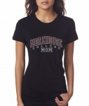 MOREHOUSE MOM Black Bling T-Shirt (Small-X-Large)