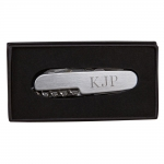 ENGRAVABLE FOLDING 9-TOOL POCKET KNIFE