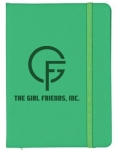 The GIRL FRIENDS,INC. Kelly Green Lined Journal Notebook
